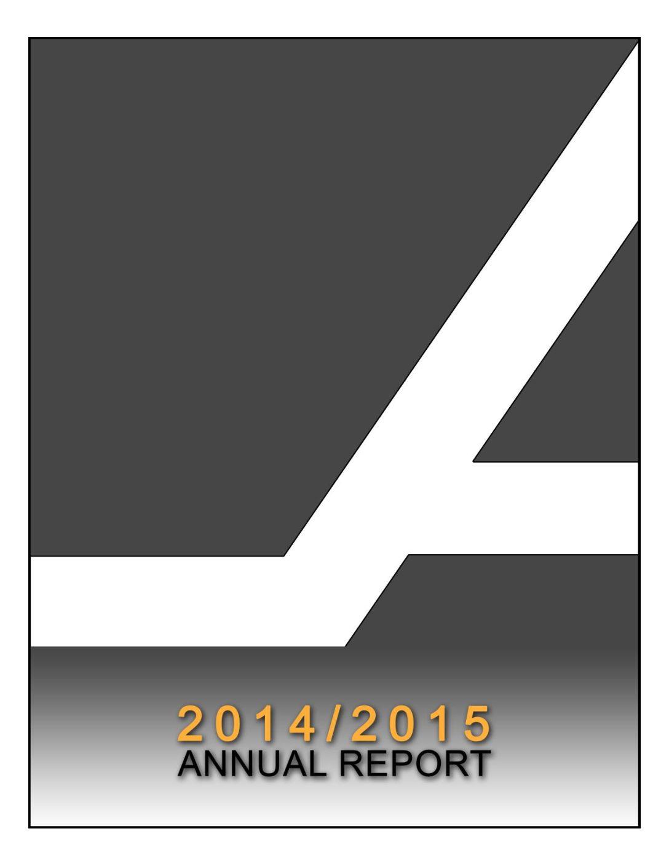 2014 – 2015 Annual Report