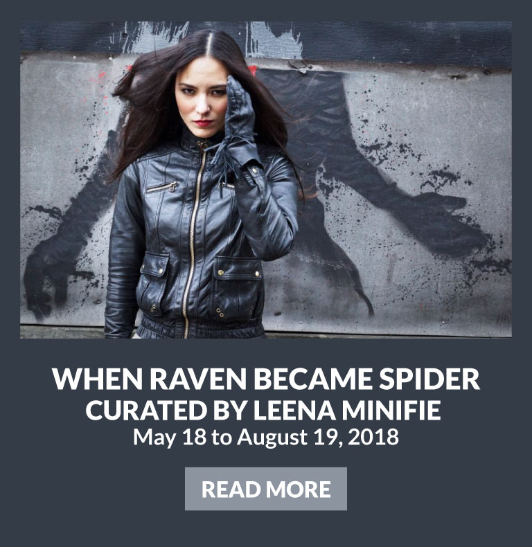 When Raven Became Spider