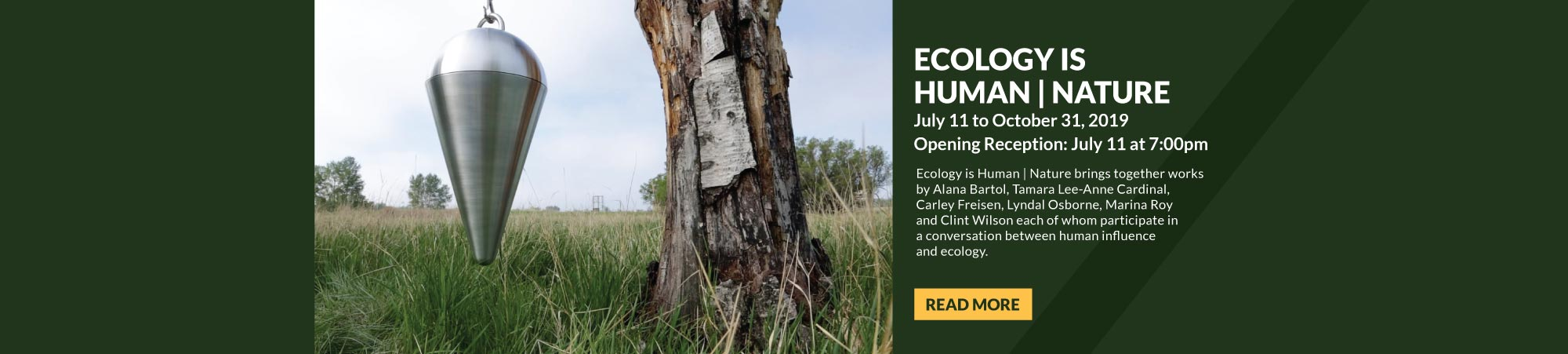Ecology is Human | Nature