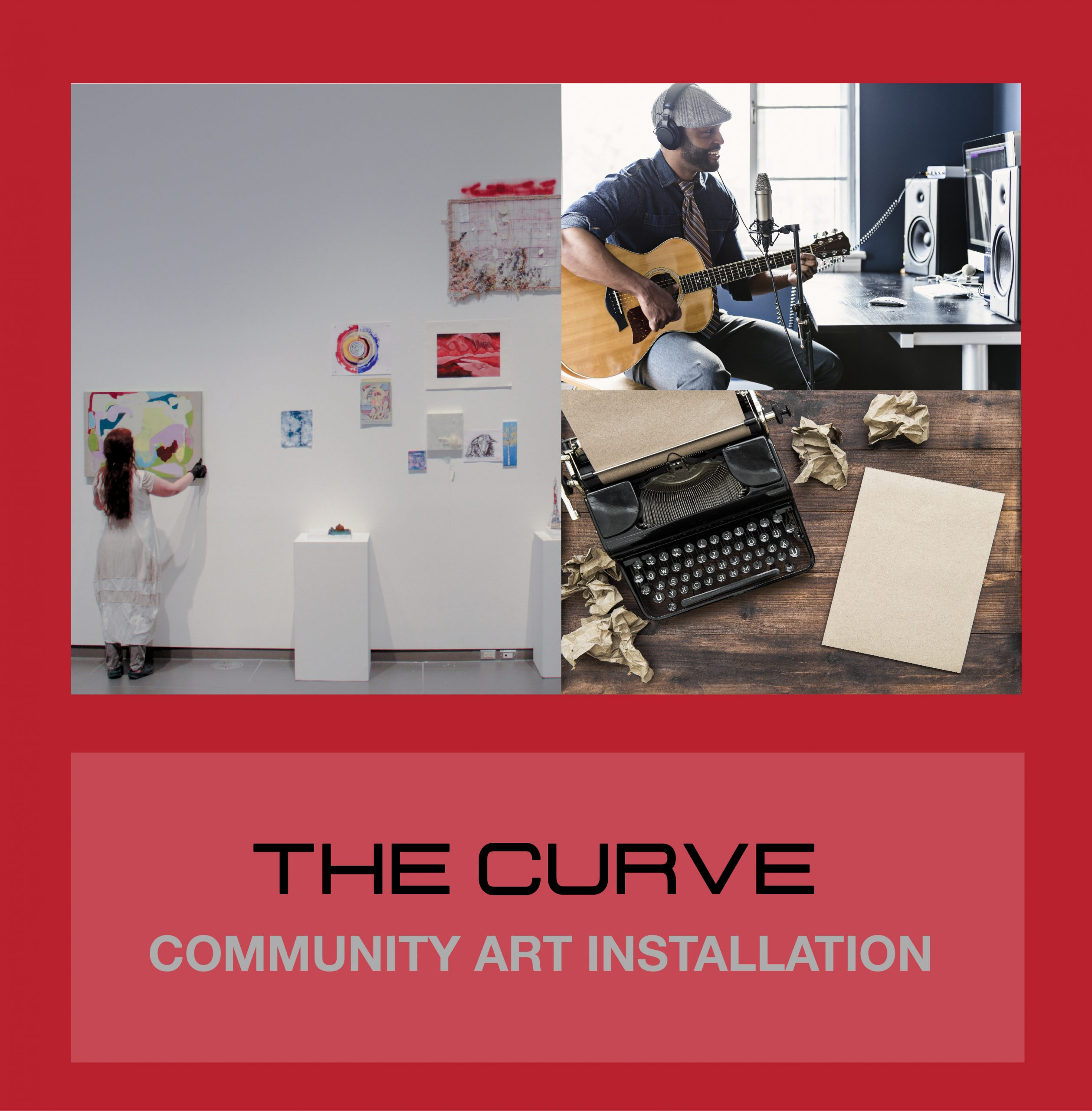 THE CURVE : Community Art Installation